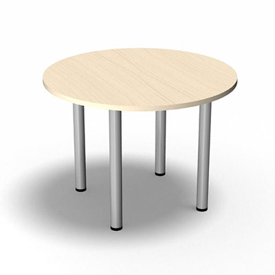 Tables rondes multigammes for Diametre table ronde 4 personnes