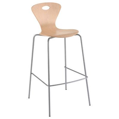 chaises hautes coque bois. Black Bedroom Furniture Sets. Home Design Ideas