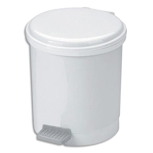 Poubelle p dale co pour sanitaire en plastique 6 l - Poubelle brabantia pas cher ...