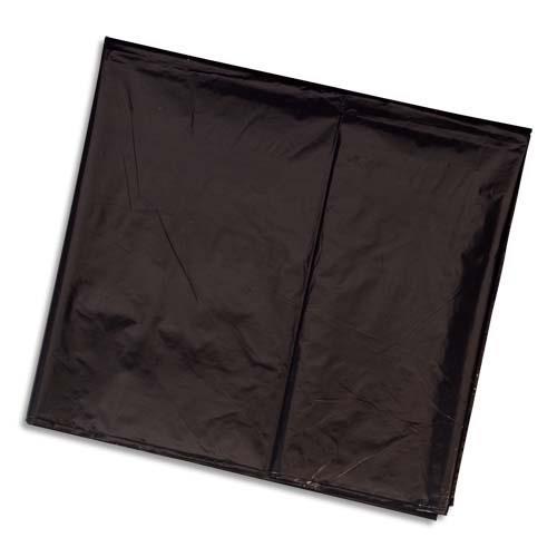 sacs poubelles 330 l noir pour container carton de 100 30 microns achat pas cher. Black Bedroom Furniture Sets. Home Design Ideas