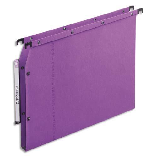 dossiers suspendus azv en carte canson lilas pour armoire fond 15 mm paquet de 25 achat. Black Bedroom Furniture Sets. Home Design Ideas
