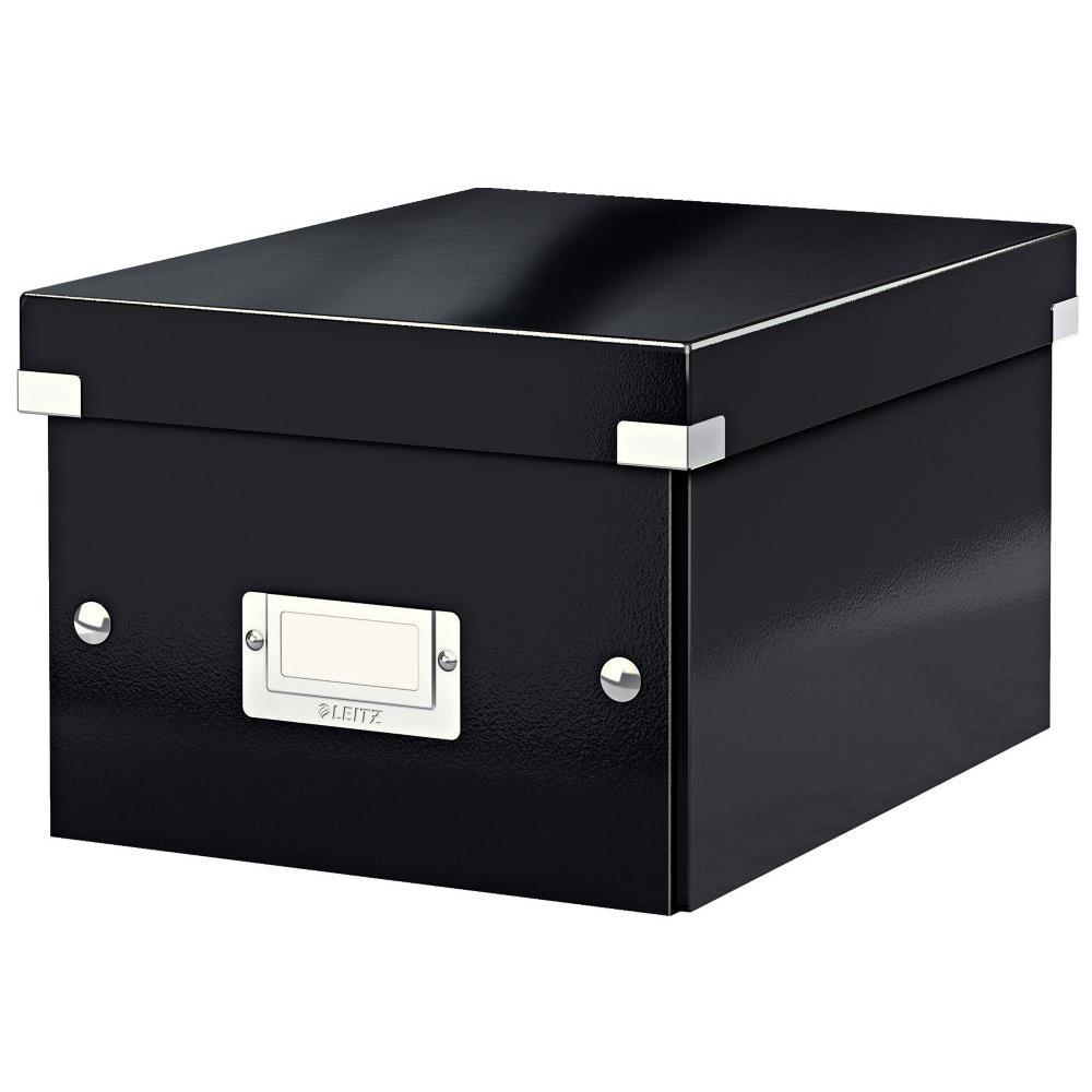 Boîte de rangement Click & Store carton , capacité 7,4 l, pour format A5 (148 x 210 mm), H. 160 ...