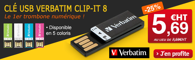 Cl� USB 2.0 Verbatim Clip IT