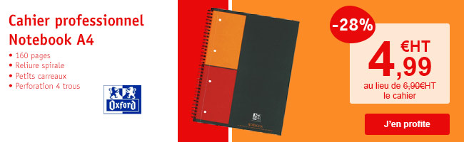 Cahier Oxford Notebook