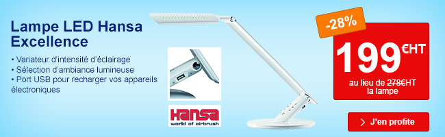 Lampe led Hansa Excellence ABS