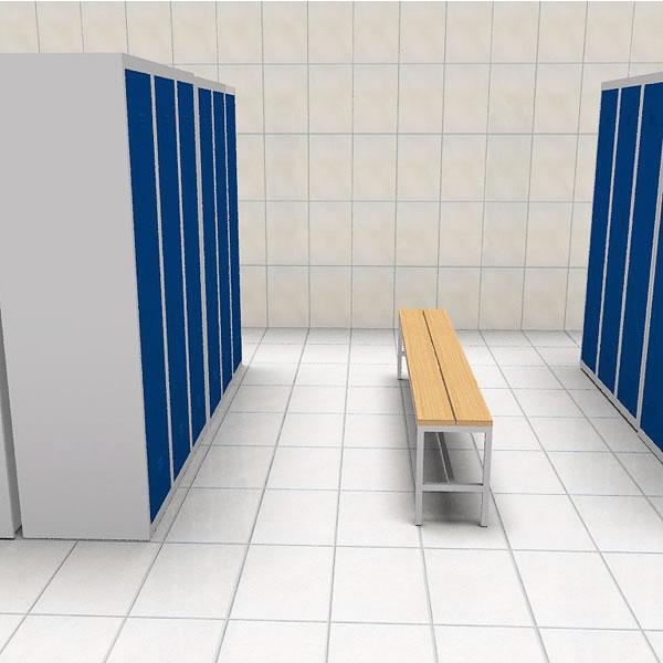 Vestiaires industriels monobloc for Vestiaires industriels