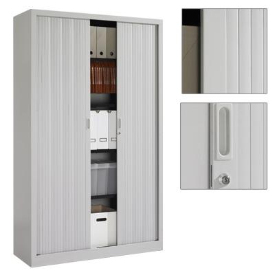 armoire haute démontable 4 tablettes + rail